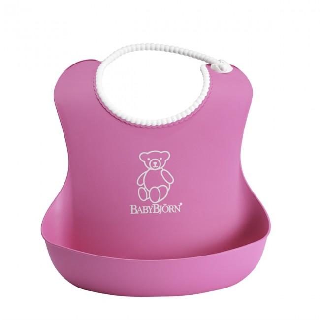 BabyBjörn - BabyBjörn Yumuşak Plastik Mama Önlüğü / Pink