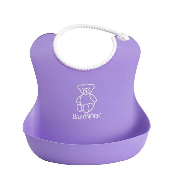 BabyBjörn - BabyBjörn Yumuşak Plastik Mama Önlüğü / Purple