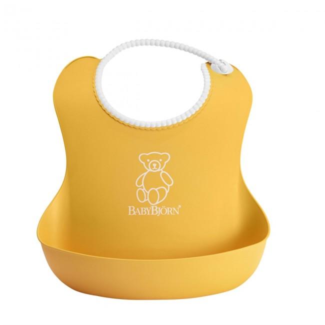 BabyBjörn - BabyBjörn Yumuşak Plastik Mama Önlüğü / Yellow