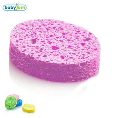 Babyjem - Babyjem Banyo Süngeri Selülozik Pembe