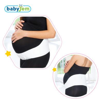 Babyjem - Babyjem Hamile Bel Destek Bandı Beyaz XL