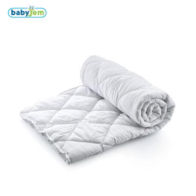Babyjem - Babyjem Mikrofiber Bebe Yorganı Beyaz
