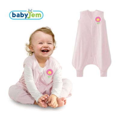 Babyjem - Babyjem Penye Uyku Tulumu Pembe 6-12 Ay
