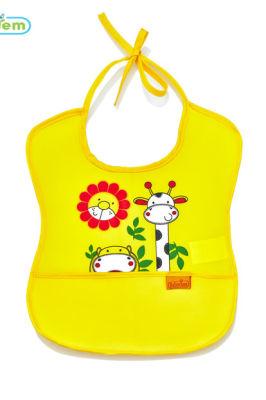 Babyjem - Babyjem Poli Muşamba Önlük Küçük Sarı