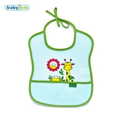 Babyjem - Babyjem Poli Muşamba Önlük Küçük Yeşil