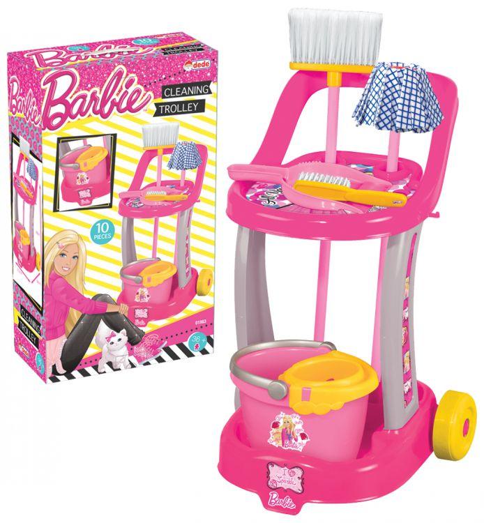 - Barbie Temizlik Arabası