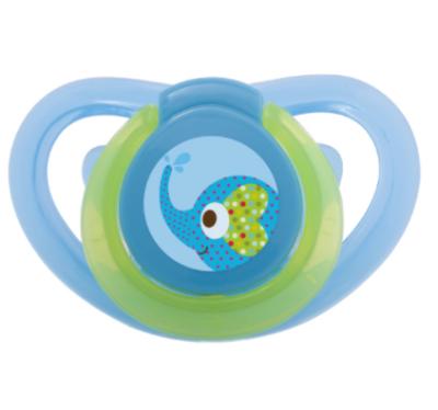 Bebedor - Bebedor Air Series Damaklı Desenli Emzik 18+ Ay Mavi Fil