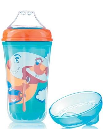 Bebedor - Bebedor Damlatmaz Isı Yalıtımlı Bardak 240 ml Mavi