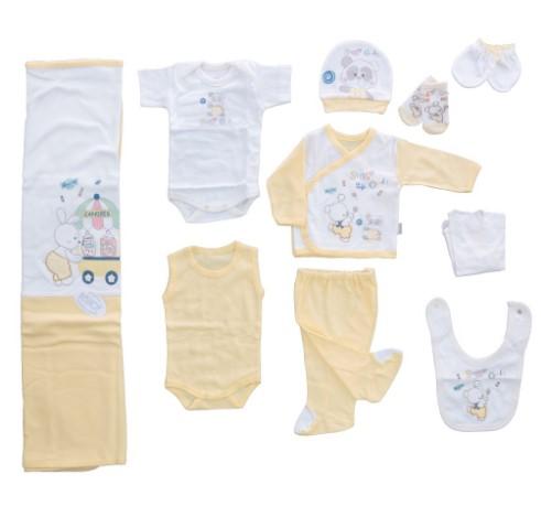 Bebitof - Bebitof Şekerci Tavşan 10 Lu Hastane Çıkışı Sarı