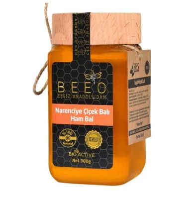 Beeo - BEE'O 300 gr. Narenciye Balı (Ham Bal)
