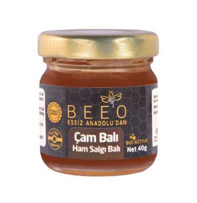 Beeo - BEE'O 40 gr. Çam Balı Marmaris Yöresi (Ham Bal)