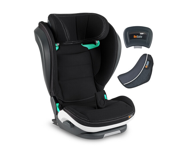 Besafe Izi Flex Fix I-Size 15-36 kg Oto koltuğu Premium Car İnterior BLACK - Thumbnail