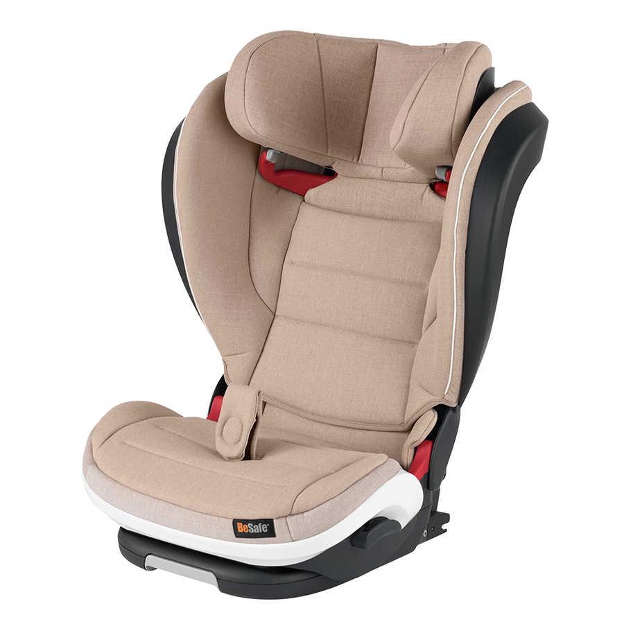 Besafe Izi Flex Fix I-Size 15-36 kg Oto koltuğu Ivory Melange