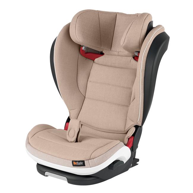 Besafe Izi Flex Fix I-Size 15-36 kg Oto koltuğu Ivory Melange - Thumbnail