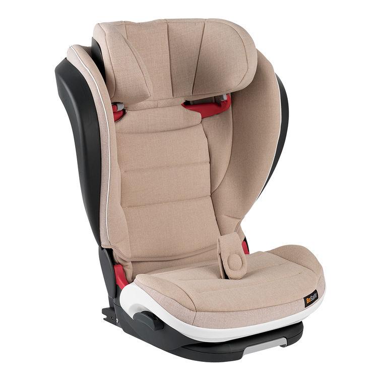Besafe - Besafe Izi Flex Fix I-Size 15-36 kg Oto koltuğu Ivory Melange