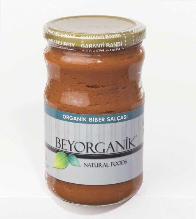 Beyorganik - Beyorganik Organik Biber Salçası 660 Gr