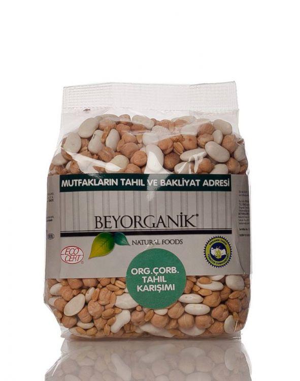 Beyorganik - Beyorganik Organik Çorbalık Tahıl Karışımı Anadolu Kuru 500 Gr