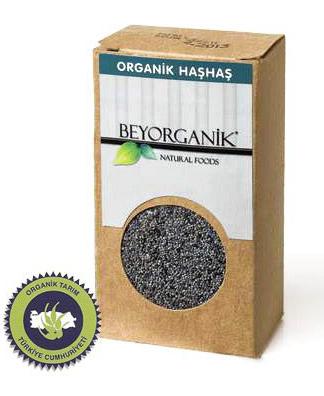 Beyorganik - Beyorganik Organik Haşhaş 120 Gr Cam Ambalaj