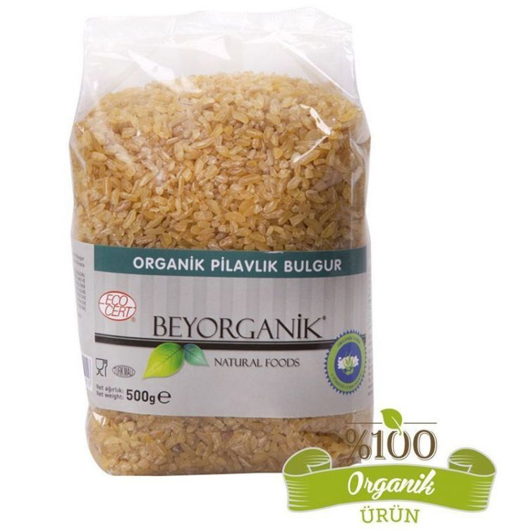 Beyorganik - Beyorganik Organik Pilavlık Bulgur 500 Gr