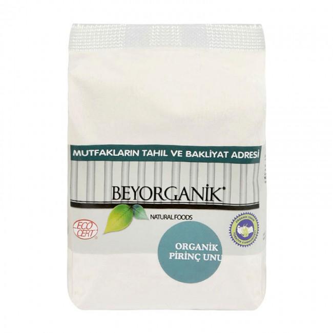 Beyorganik - Beyorganik Organik Pirinç Unu 500 Gr