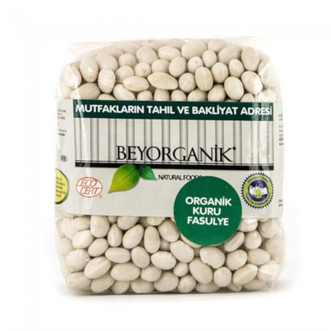 Beyorganik - Beyorganik Organik Şeker Fasulye 1 Kg