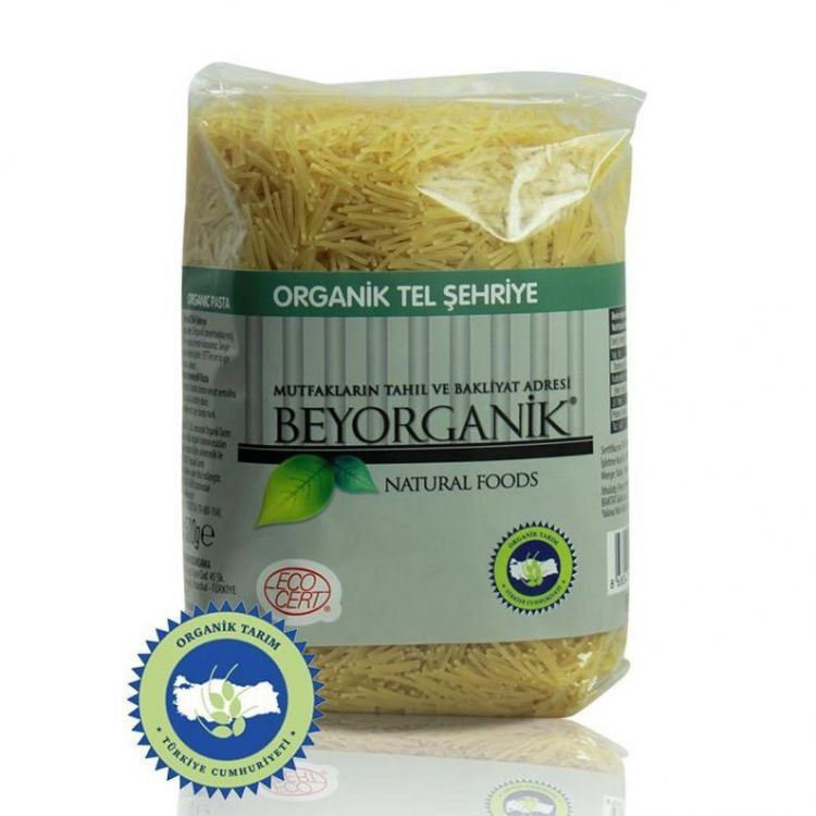 Beyorganik - Beyorganik Organik Tel Şehriye 500 Gr