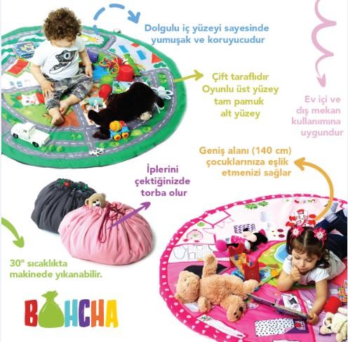 Bohcha Erkek- Otoban, Oyuncak Torbası
