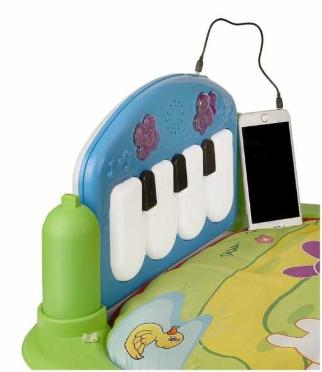 BONDİGO BP5014 Bondigo Tekmele ve Oyna Piyanolu Oyun HalısI - Thumbnail
