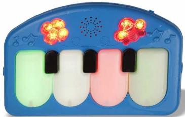 BONDİGO BP5014 Bondigo Tekmele ve Oyna Piyanolu Oyun HalısI