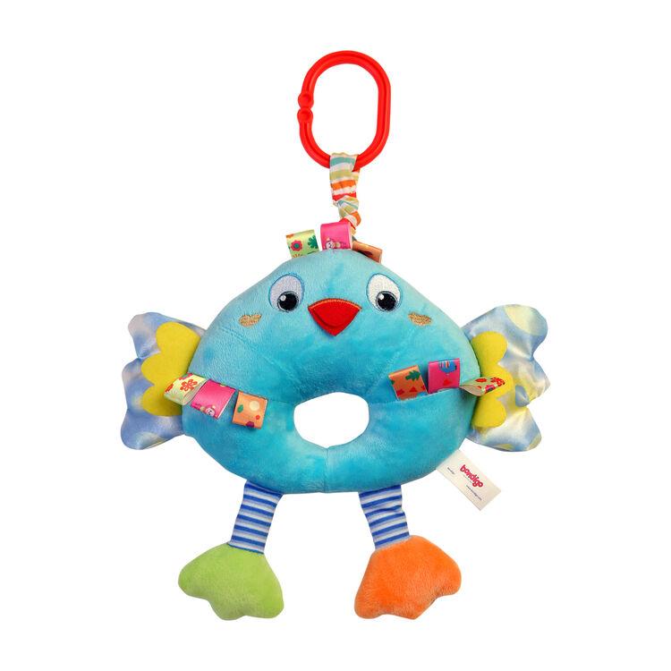 Bondigo - Bondigo Müzisyen Arkadaşım Sevimli Kuş Mavi BP3082