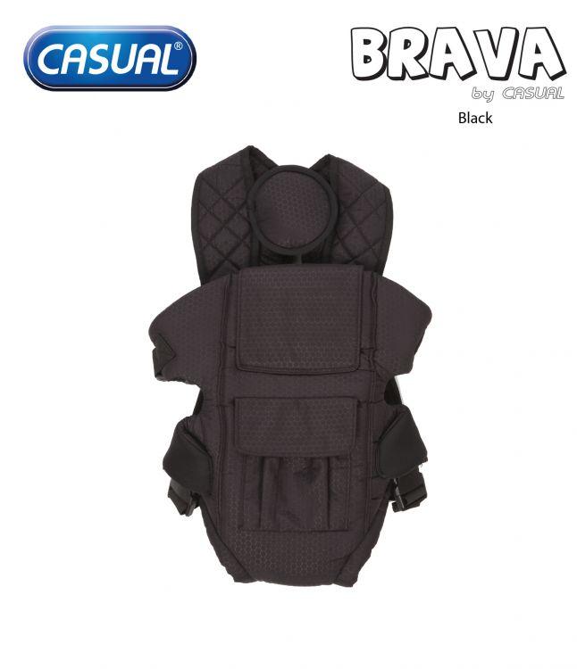 Casual - Brava Lüks Kanguru - Black