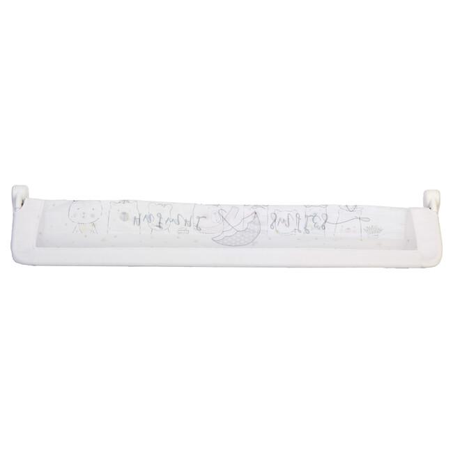 Brion Vega Katlanabilir Yatak Bariyeri Beyaz - Thumbnail
