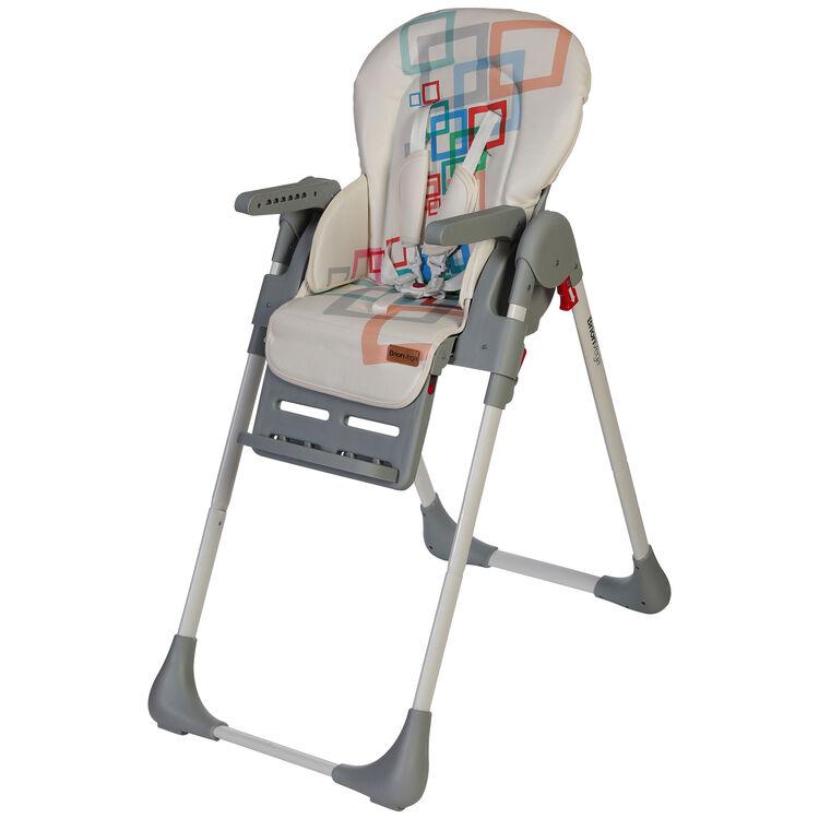 BrionVega - Brion Vega Çok Fonksiyonlu Tekerlekli Mama Sandalyesi Gri (1)