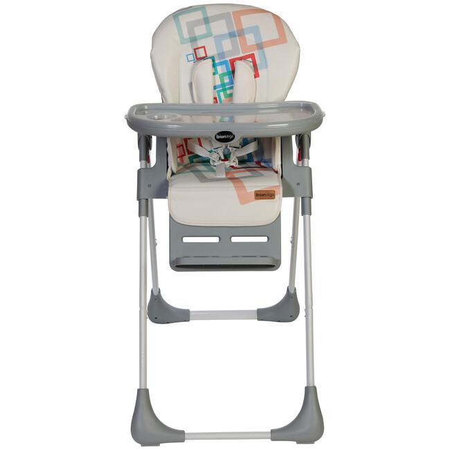 Brion Vega Çok Fonksiyonlu Tekerlekli Mama Sandalyesi Gri - Thumbnail