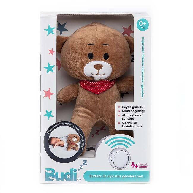 Budizzz Beyaz Gürültü Sağlayan Sensörlü Uyku Arkadaşı-Kırmızı - Thumbnail