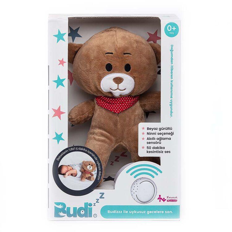 Budizzz - Budizzz Beyaz Gürültü Sağlayan Sensörlü Uyku Arkadaşı-Kırmızı