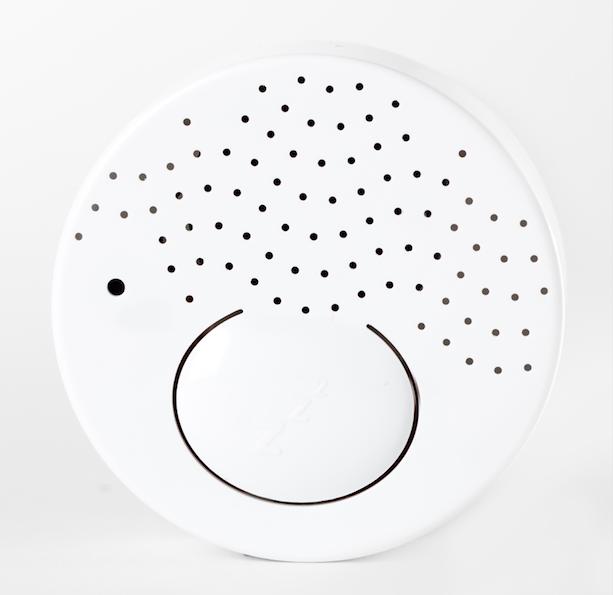 Budizzz Beyaz Gürültü Sağlayan Sensörlü Uyku Arkadaşı-Kırmızı