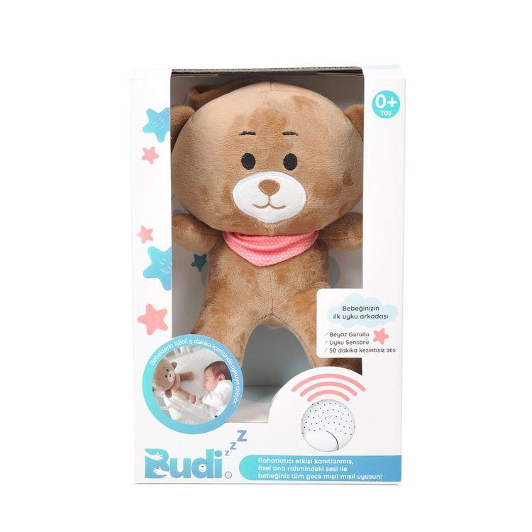 Budizzz - Budizzz Beyaz Gürültü Sağlayan Sensörlü Uyku Arkadaşı-Pembe
