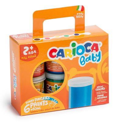 Carioca - Carıoca Bebek Yıkanabilir Parmak Boyası