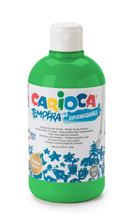 Carioca - Carioca Guaj Boya (Süper Ykanabilir) 500 ML Yeşil