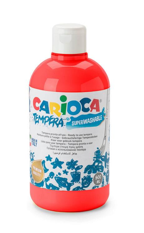 Carioca - Carioca Guaj Boya (Süper Ykanabilir) 500 ML Kırmızı