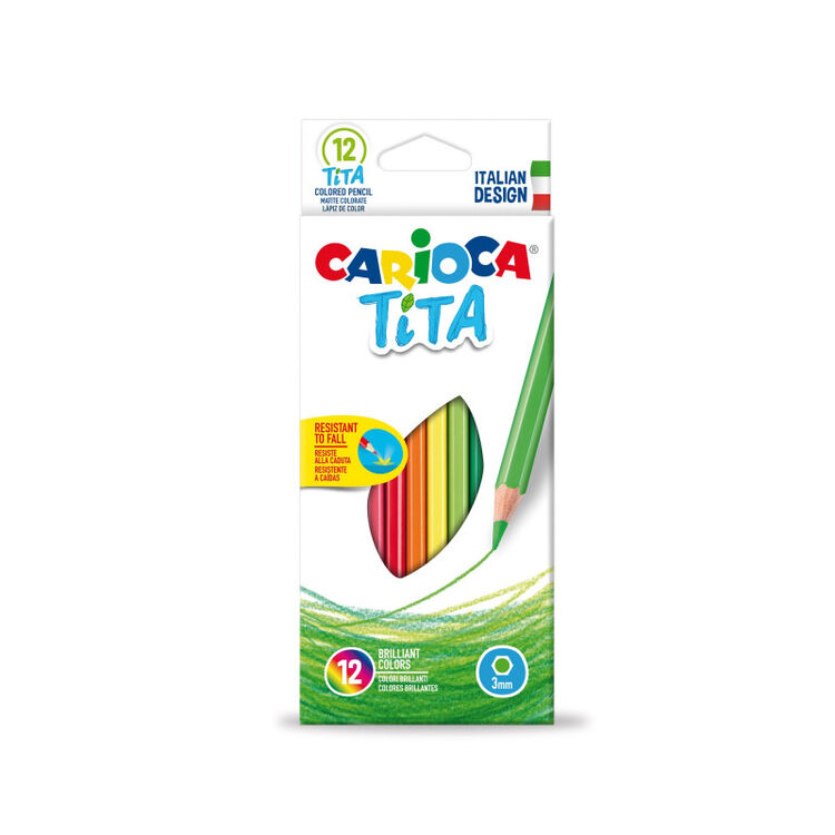 Carioca - Carioca Tita Kuru Boya Kalemi 12'li