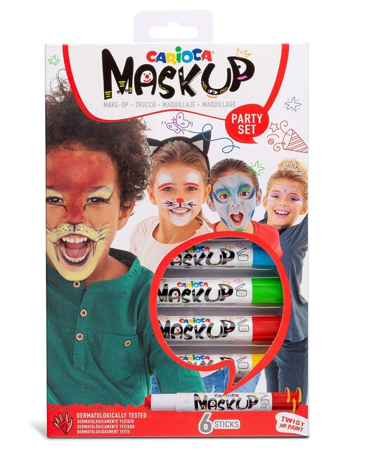 Carioca Mask Up Yüz Boyası – Party (6 Renk) - Thumbnail