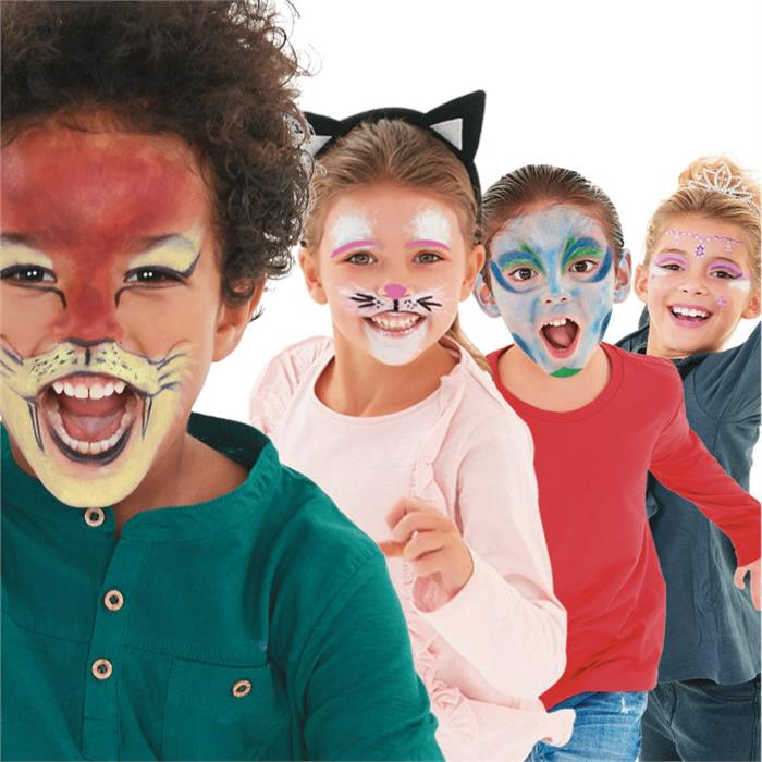 Carioca Mask Up Yüz Boyası – Party (6 Renk)