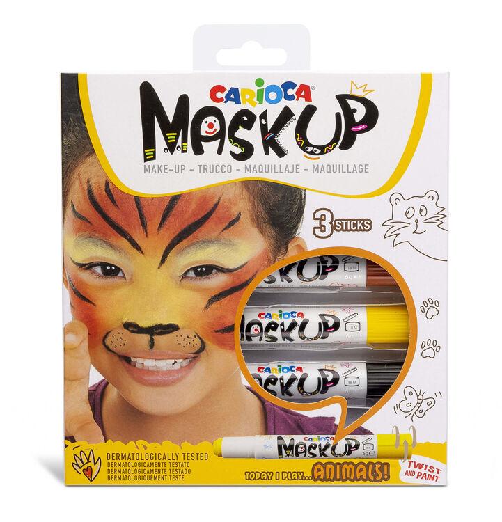Carioca - Carioca Mask Up Yüz Boyası – Hayvanlar (3 Renk)