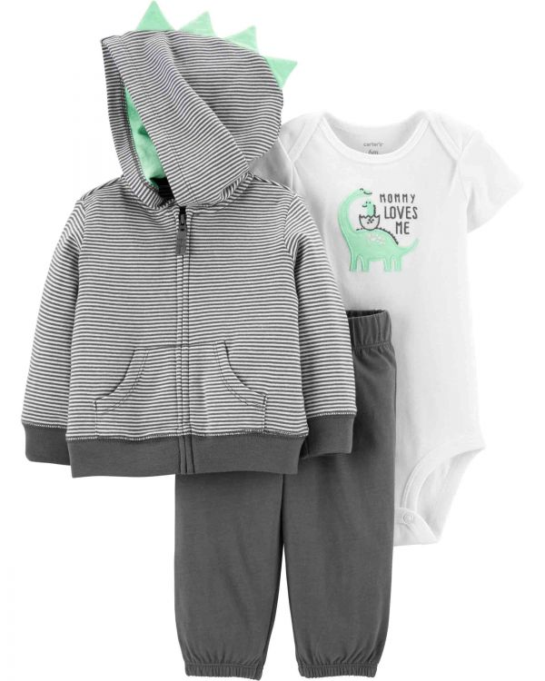 Carter′s - Carter's Layette Erkek Bebek 3'lü Set