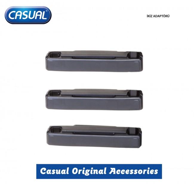 Casual - Casual İkiz Adaptörü 3 lü set
