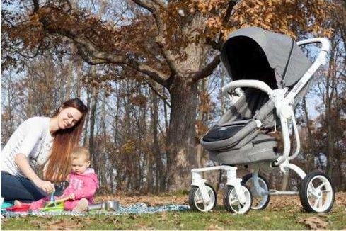 Casual - Casual Quatro Trona Travel Sistem Bebek Arabası - Antrasit (1)