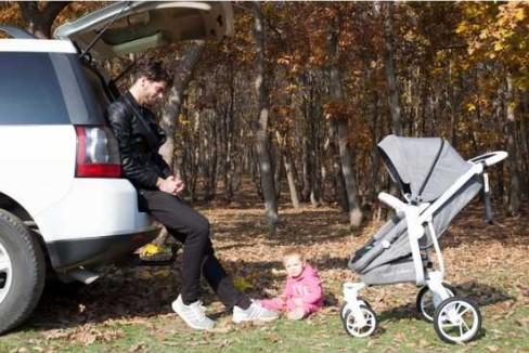 Casual Quatro Trona Travel Sistem Bebek Arabası - Antrasit - Thumbnail
