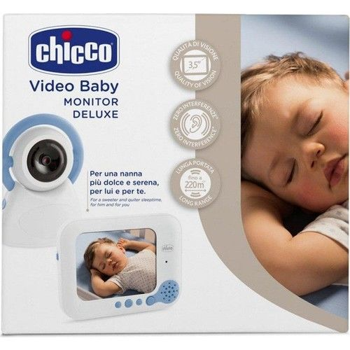 Chicco - Chicco Video Bebek Monitörü Deluxe 254